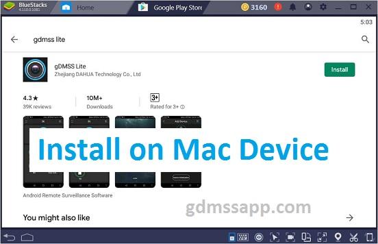 gDMSS Lite for Mac Macbook Pro Mini Air Free Download